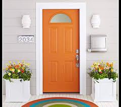 houses orange door house enter exit blueprint entrance pictures