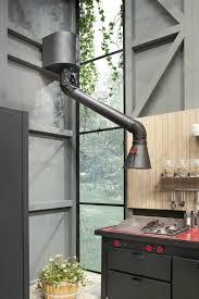 hotte industrielle cuisine hotte en acier mammut midi by minacciolo design silvio stefani