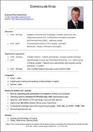 Junior Network Administrator Resume Cv 4 Resume Cv