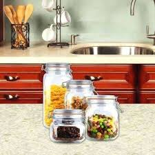 clear kitchen canisters clear kitchen canisters storage containers jars inspiration for