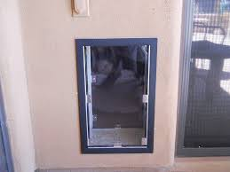 backyards brokenhouse installing cat door catdoor 005 a in panel