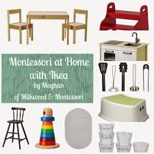Montessori Weaning Table by Home Montessori With Ikea