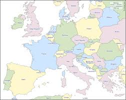 Map Central Europe by Western And Central Europe Free Map Free Blank Map Free Outline
