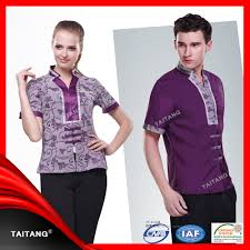 new design classic chinese restaurant uniform for waiter and