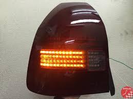 rize japan honda civic type r ek9 hatchback led tails form usa