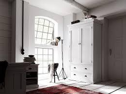 White Rustic Bedroom Furniture Amazon Com Novasolo Halifax Mahogany Wardrobe White Kitchen