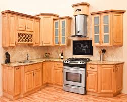 Maple Kitchen Cabinet Simple Natural Maple Kitchen Cabinets L Inside Design