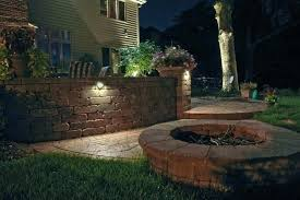solar retaining wall lights retaining wall lights retaining wall lighting love the lights on the