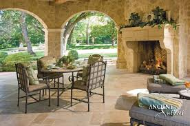 Diy Outdoor Living Spaces - top 5 tips to choosing your outdoor fireplace antique fireplaces