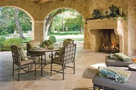 outdoor livingroom top 5 tips to choosing your outdoor fireplace antique fireplaces