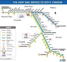 light rail holiday schedule vta to levi s stadium