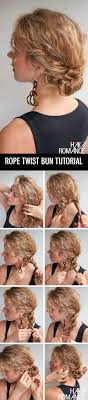 easy messy buns for shoulder length hair 32 easy hairstyles for curly hair for short long shoulder