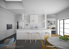 Modern Kitchens And Bathrooms Htons Style Kitchen Designs Minosa Htons Style Kitchen