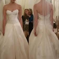 simple a line wedding dress sweetheart ivory satin sweep train