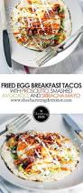 sriracha mayo prosciutto and fried egg breakfast tacos the charming detroiter