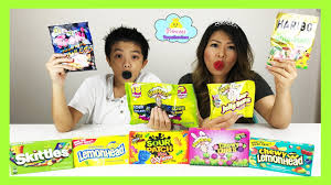 sour candy challenge sour skittles sour patch kids warheads xtreme