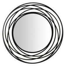 Wall Mirrors At Target Fancy Cool Cbk 247440 Lacquered Black Scroll U0026 Gem Wall Mirror