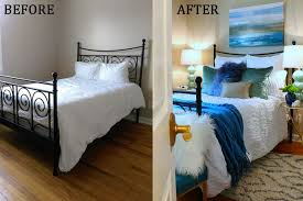 cheap bedroom makeover easy one room refresh guest room makeover better living