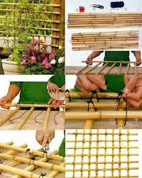 Diy Garden And Crafts - diy bamboo trellis bamboo crafts pinterest bamboo trellis