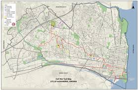 washington dc metrobus map alexandria civil war defenses of washington bike trail civil war