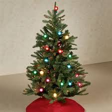 prelit lighted 4 foot artificial tree in 4 foot