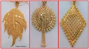 gold pendant fashion necklace images Pure gold pendant beautiful light weight designs in gold today jpg