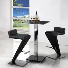 Glass Breakfast Bar Table Modern Breakfast Bar Table Bar Stools Shape Images Hubster