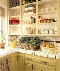 Kitchen Cabinet Curtains Vintage Kitchen Teal Green Cabinets Properly Applied Vintage