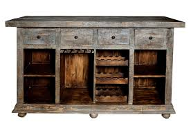 Wood Bar Cabinet Rustic Bar U0026 Wine Cabinets You U0027ll Love Wayfair