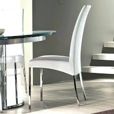 Leather Dining Chairs Design Ideas Modern Dining Chair White Leather Dining Chairs Contemporary