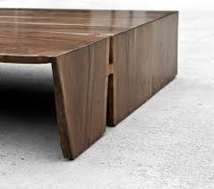 Waterfall Coffee Table 52 Best Waterfall Edge Table Images On Pinterest Coffee Tables