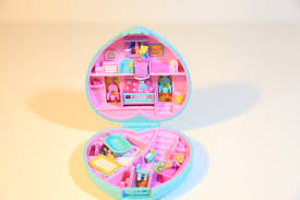 polly pocket baby fun nursery compact mattel toys bluebird