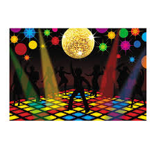 Dance Wall Murals Disco Party Decorations Ebay