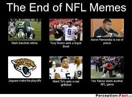 Nfl Memes Funny - american football meme the end of nfl memes picsmine