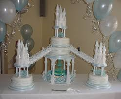 castle wedding cakes with fountains the wedding specialiststhe