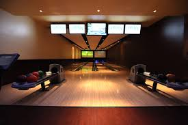 a private bowling alley in your house would be pretty great haha