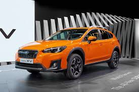orange subaru impreza 2018 subaru xv is here with familiar looks new platform