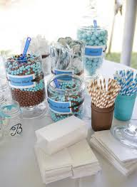 Candy Buffet Wedding Ideas by 7 Ways To Color Your Candy Buffet Weddings Bridal Showers And