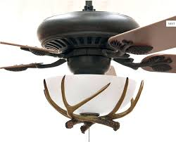 Menards Ceiling Fan by Ceiling Fan Ceiling Fan With Deer Antlers Marvellous Antler