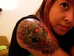 Mexican Flag Tattoos Sugar Skull Tattoo By Tommythesquid On Deviantart