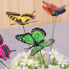 butterfly flowers garden statues lawn ornaments ebay