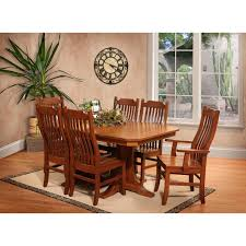 trailway copper canyon 7 pc dining room set stewart roth furniture