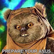 Star Wars Sex Meme - prepare your anus know your meme