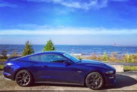 sky blue mustang 2018 mustang refresh released 2018 mustang photos cj pony parts