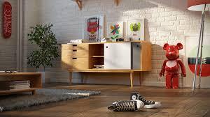 midcentury credenza interior design ideas