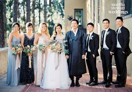 Celebrity Brides Who Wore Unconventional by Steven Yeun U0027s Wedding Photos Get Celebrity Wedding Inspiration