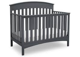 Black Convertible Cribs Bennington Elite Arched 4 In 1 Convertible Crib Delta Children