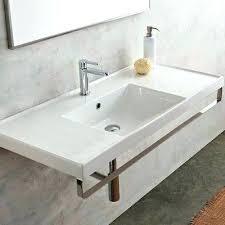 porcelain wall mount sink wall hung bath sink by ml ceramic wall mount bathroom sink with wall
