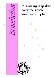 wedding blessing words benediction words of blessing circles of blessing celebrant perth