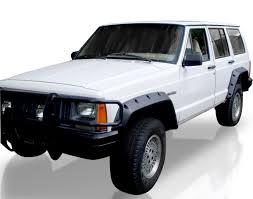 black jeep 4 door v2 jeep cherokee xj heavy duty fender flares